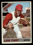 1966 Topps #285   Luis Tiant Front Thumbnail