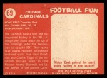 1958 Topps #69   Cardinals Team Back Thumbnail