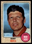 1968 Topps #43   Gary Bell Front Thumbnail