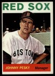1964 Topps #248   Johnny Pesky Front Thumbnail