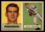 1957 Topps #93   Preston Carpenter Front Thumbnail