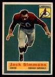 1956 Topps #82   Jack Simmons Front Thumbnail