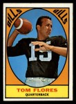 1967 Topps #16   Tom Flores Front Thumbnail