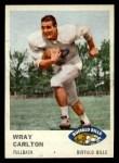 1961 Fleer #134   Wray Carlton Front Thumbnail