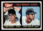 1965 Topps #477  Cardinals Rookies  -  Steve Carlton / Fritz Ackley Front Thumbnail