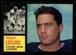 1962 Topps #19  Roger LeClerc  Front Thumbnail
