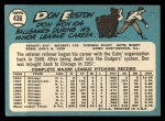 1965 Topps #436   Don Elston Back Thumbnail