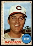1968 Topps #48  Ted Davidson  Front Thumbnail