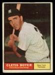 1961 Topps #19  Clete Boyer  Front Thumbnail