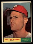 1961 Topps #359  Dallas Green  Front Thumbnail