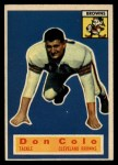 1956 Topps #57   Don Colo Front Thumbnail