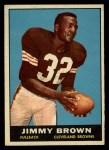 1961 Topps #71   Jim Brown Front Thumbnail