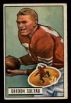 1951 Bowman #67  Gordon Soltau  Front Thumbnail