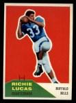 1960 Fleer #96  Richie Lucas  Front Thumbnail