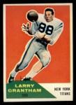 1960 Fleer #98  Larry Grantham  Front Thumbnail