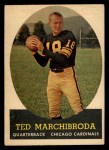 1958 Topps #44  Ted Marchibroda  Front Thumbnail
