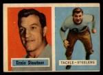1957 Topps #92   Ernie Stautner Front Thumbnail