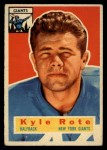 1956 Topps #29   Kyle Rote Front Thumbnail
