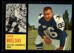 1962 Topps #43   Dick Bielski Front Thumbnail