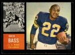 1962 Topps #80   Dick Bass Front Thumbnail