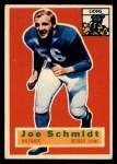 1956 Topps #44  Joe Schmidt  Front Thumbnail
