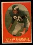 1958 Topps #35   Chuck Bednarik Front Thumbnail