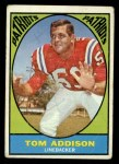 1967 Topps #5   Tom Addison Front Thumbnail