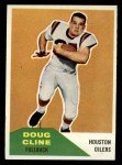 1960 Fleer #109  Doug Cline  Front Thumbnail