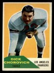 1960 Fleer #62   Dick Chorovich Front Thumbnail