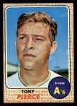1968 Topps #38  Tony Pierce  Front Thumbnail