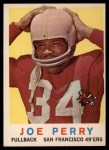 1959 Topps #80   Joe Perry Front Thumbnail