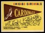 1959 Topps #24  Cardinals Team Checklist  Front Thumbnail