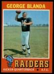 1971 Topps #39   George Blanda Front Thumbnail