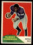 1960 Fleer #17   Elbert Dubenion Front Thumbnail