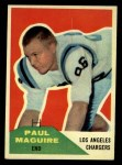 1960 Fleer #128  Paul Maguire  Front Thumbnail