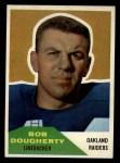 1960 Fleer #117  Bob Dougherty  Front Thumbnail