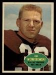 1960 #33  Ed Modzelewski  Front Thumbnail