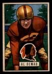 1951 Bowman #143  Al Demao  Front Thumbnail
