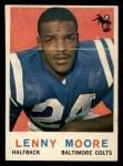 1959 Topps #100  Lenny Moore  Front Thumbnail