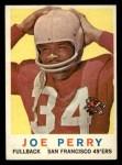 1959 Topps #80   Joe Perry Front Thumbnail