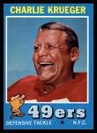 1971 Topps #213   Charlie Krueger Front Thumbnail