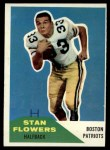 1960 Fleer #115  Stan Flowers  Front Thumbnail