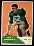 1960 Fleer #23  Mike Hudock  Front Thumbnail