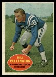 1960 Topps #8   Bill Pellington Front Thumbnail