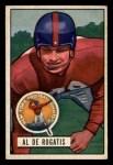 1951 Bowman #55   Al DeRogatis Front Thumbnail