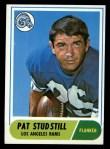 1968 Topps #156   Pat Studstill Front Thumbnail