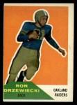 1960 Fleer #34   Ron Drzewiecki Front Thumbnail