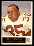 1965 Philadelphia #157   Joe Childress  Front Thumbnail
