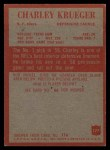 1965 Philadelphia #177  Charlie Krueger   Back Thumbnail