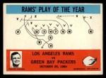 1965 Philadelphia #98  Los Angeles Rams   -  Hartland Svare Front Thumbnail